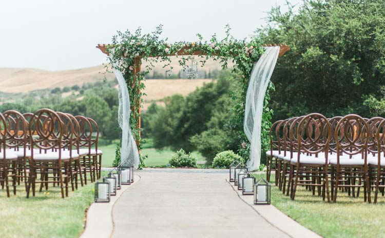 Fairway Ceremony at Hiddenbrooke Golf Club